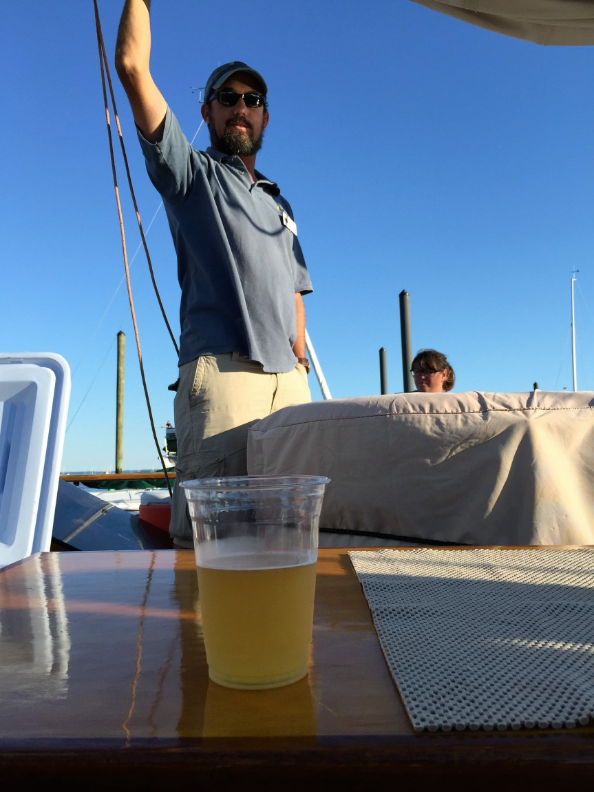 Full Sail @ Half Full Brewery & Soundwaters Rare Beer Cruise